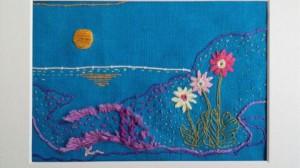 「希望の花」 陸前高田から気仙沼まで   海沿いを行く  姿を変えた風景  そこにある希望  これからの希望 静かな入り江をみつめて  心をよせて 祈る いつか きっと 花は咲く