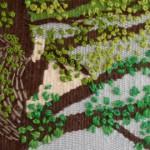 絵織り・刺繍講座のオンラインレッスンを実施しています。